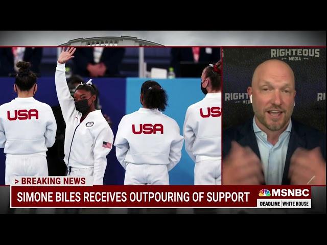 MSNBC - DEADLINE WHITEHOUSE - JULY 28, 2021: SIMONE BILES FALLOUT