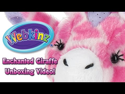 Webkinz Enchanted Giraffe Unboxing - NEW Pet May 2016!