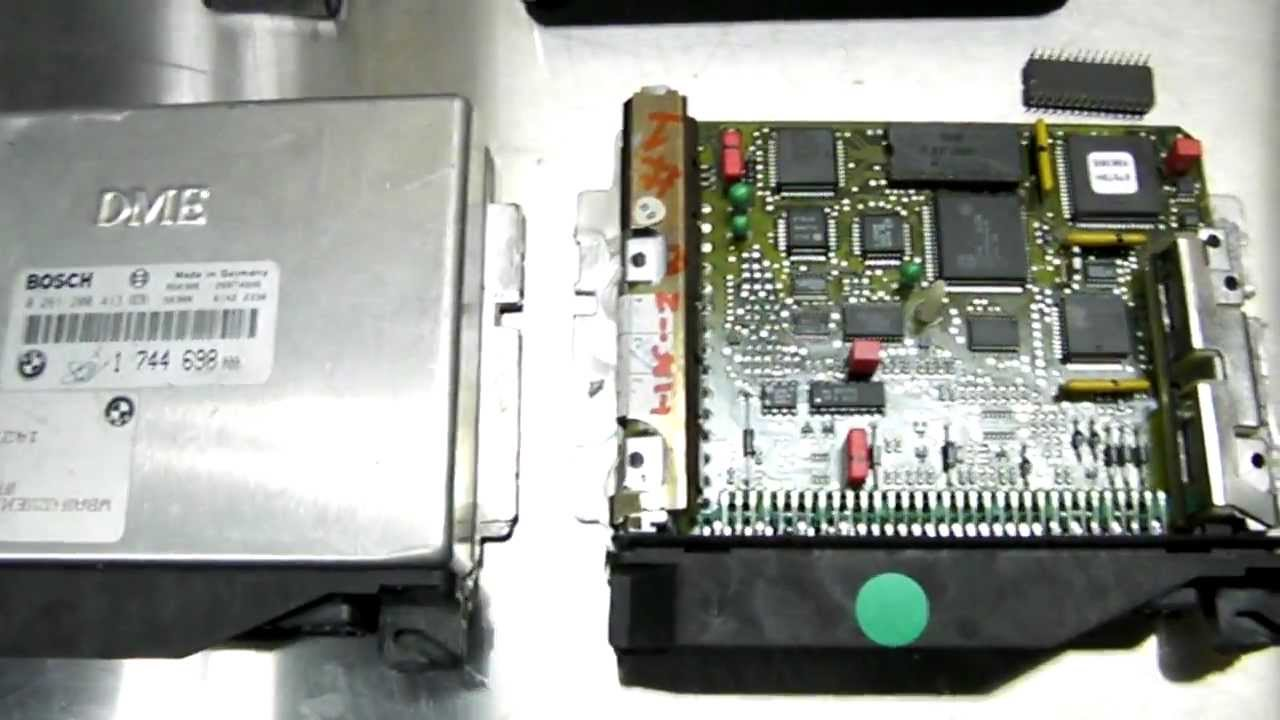 BMW E36 EWS II BYPASS COMPUTER SWAP - YouTube