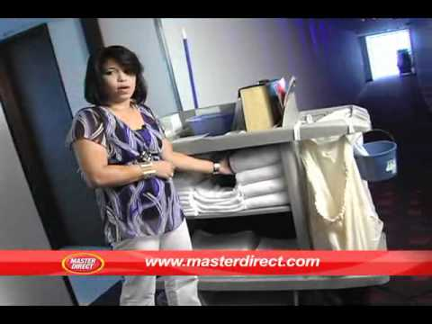 Dotaci n del carro de camareras youtube for Trabajo de camarera de pisos