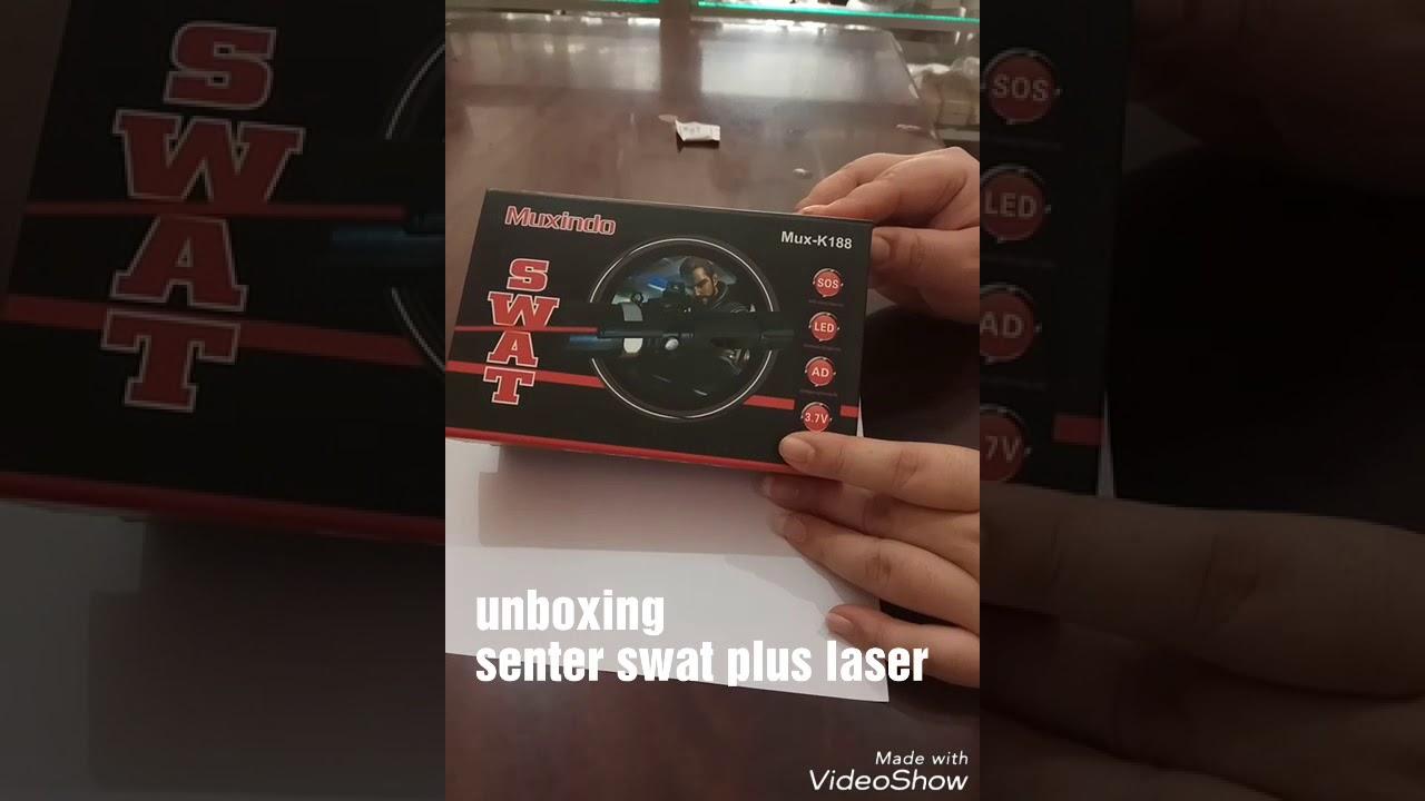 Senter Swat Plus Laser 3 Watt Cree Jarak Jauh Youtube 303 Atau Hijau Green