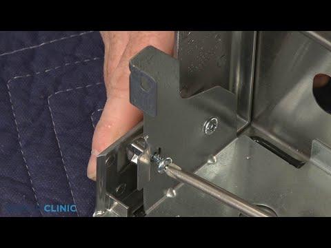 KitchenAid Convection Gas Range Left Control Panel Endcap Replacement - Model #KSGB900ESS1