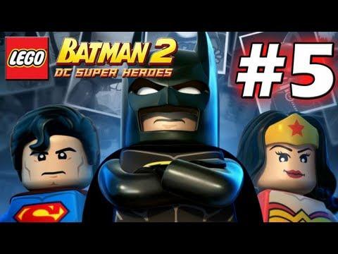 LEGO Batman 2 : DC Super Heroes Episode 5 - Asylum Assignment 2/2 (HD) (Gameplay)
