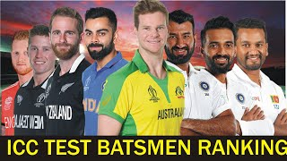 icc test batsmen ranking 2020 top 50