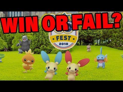 What is Happening At Pokemon GO Fest 2018? #PokemonGoFest2018