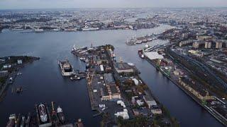Морской порт Санкт-Петербург. Часть 2. Октябрь 2020.