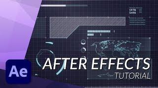 Hoe te maken een Geweldige Futuristische HUD in After Effects - TUTORIAL (Deel 1)