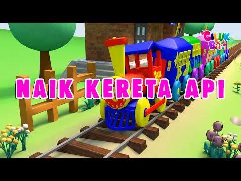 Naik Kereta Api | Lagu Anak Indonesia Populer | Cilukba