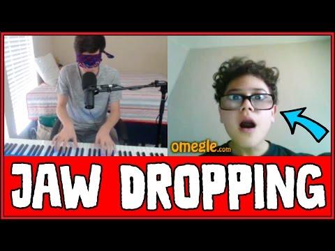 Blindfolded Pianist AMAZES People On Omegle!! (Reactions)