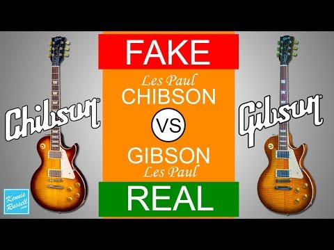 Fake Chibson vs Real Gibson (Can You Tell The Difference Between These Two Les Paul Guitars?)