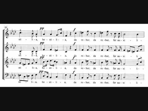 "Giaochino Rossini - Chorus for mixed voices (1857) - ""O salutaris hostia"" (Stuttgart Vocal Ensemble)"