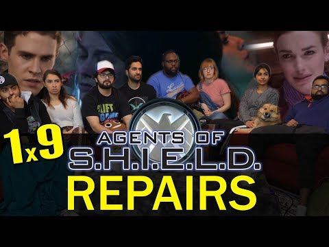 Agents of Shield - 1x9 Repairs - Group Reaction