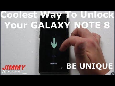 Coolest (HIDDEN) Way To UNLOCK Your Galaxy NOTE 8