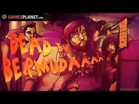 DEAD IN BERMUDA - S01E01 - Absturz! ✰ Let's Play Dead in Bermuda Deutsch German