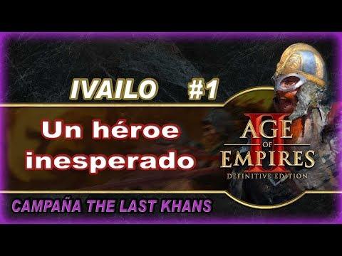 Age of empires II DE : Campaña IVAILO #1 Un héroe inesperado - Gameplay