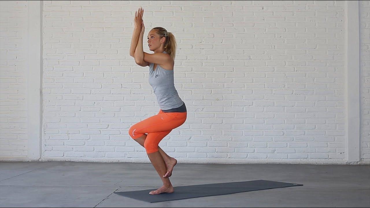 Yoga: How To Do Eagle Pose - YouTube