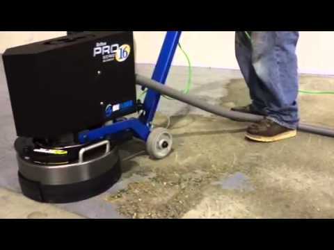 "ONFLOOR® Pro Series 16"" Machine Removing Epoxy Floor"