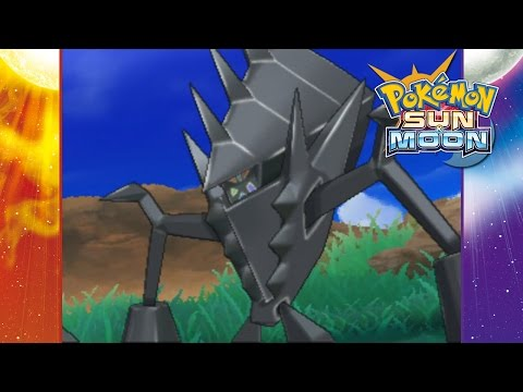 Pokemon Sun and Moon - Catching Necrozma