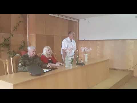 Курской район. Станица Курская. Кандидат на пост губернатора Ставропольского края В.И.Соболев