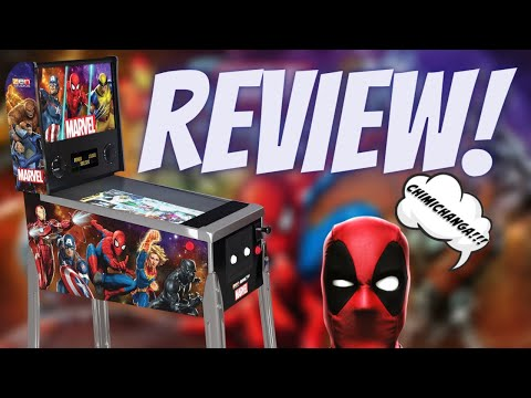 Arcade1Up Marvel Pinball Machine Review! from PDubs Arcade Loft