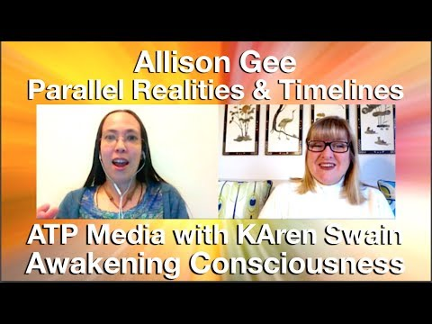 Parallel Reality Shift, Jump Timelines & Cosmic Disclosure with Allison Gee