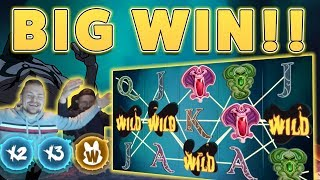 MASSIVE WIN!! Wish Master BIG WIN - HUGE WIN on Casino Game from Casinodady