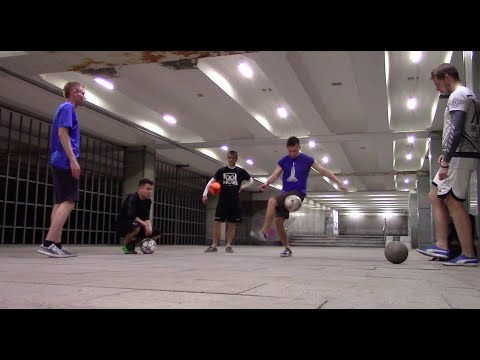 Bulat visited Moscow | Freestyle Football meeting