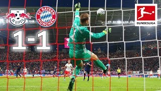 RB Leipzig vs. Bayern München I 1-1 I World-Class Saves From Neuer and Gulacsi - Highlights