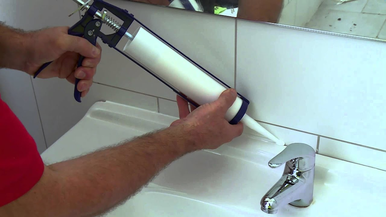 How to Silicone a Gap - DIY At Bunnings - YouTube