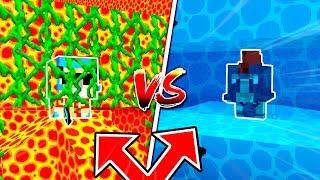 escondite de agua vs escondite de lava minecraft cual es el mejor escondite con timba