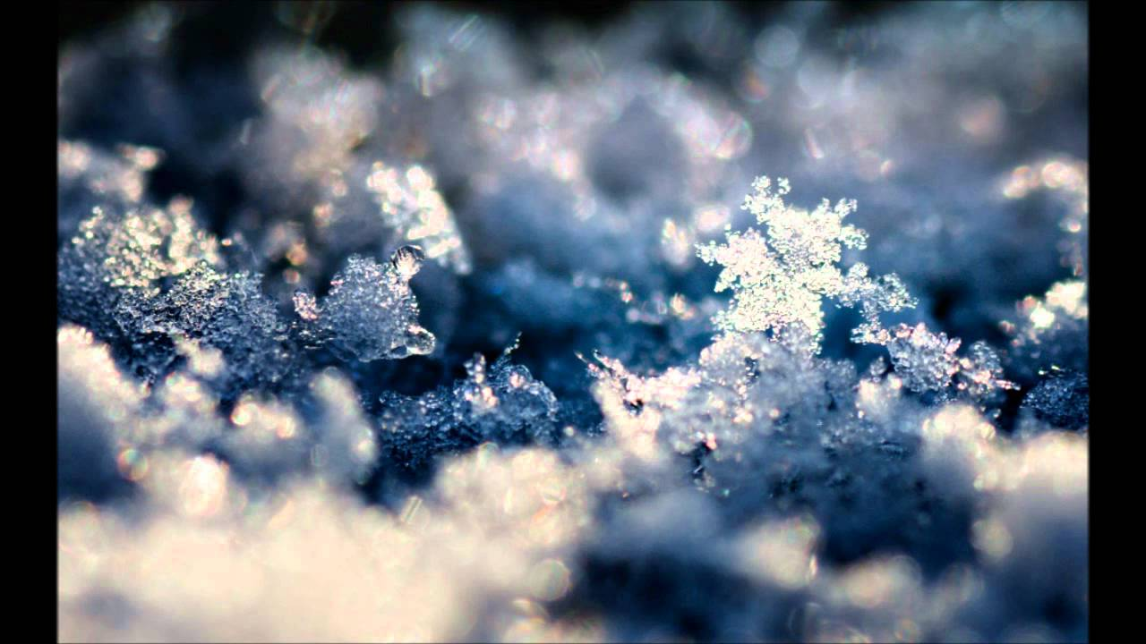 Desktop Wallpaper Falling Snow Rawtekk Feat Miss K Snowflakes Original Hd Youtube