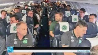الصور الأخير لأعضاء فريق كرة القدم البرازيلي قبل تحطم طائرتهم