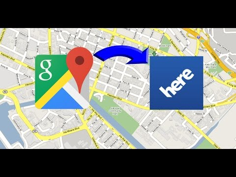 How To Share/Send Any Location From Google Maps to HERE/Sygic Maps on Android !