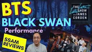 """[SSAM REVIEWS] """"Black Swan"""" performance @ the Late Late Show with James Corden [쌤리뷰] 레잇레잇쇼 """"블랙스완""""리뷰"""