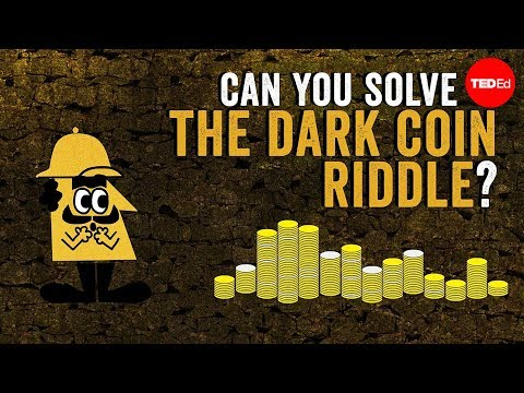 Video image: Can you solve the dark coin riddle? - Lisa Winer