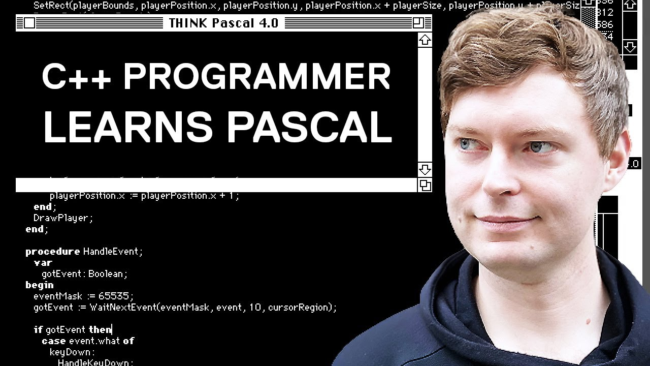 Learning Pascal on the Classic Macintosh