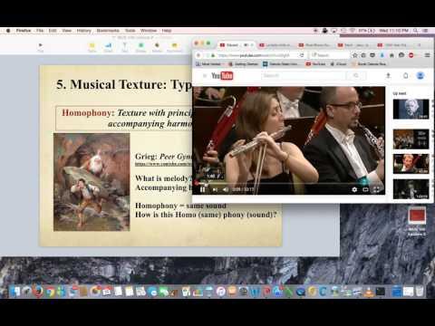 MUS 100 Chapter 5 Musical Texture