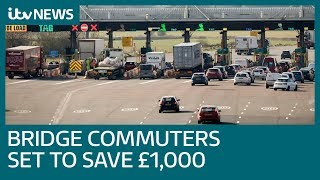 'Like a pay rise': Commuters celebrate end of Severn bridges tolls | ITV News