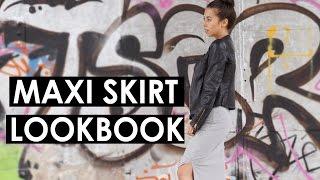 Maxi Skirt / Dress Lookbook | EILEENA LEY