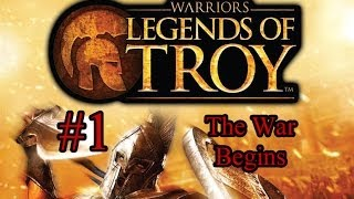 Warriors: Legends of Troy Episode 1 - The War Begins