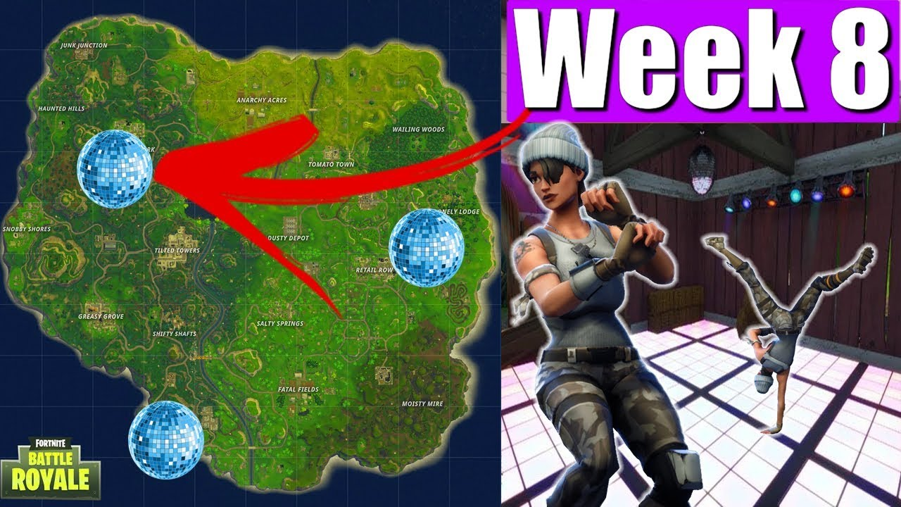 All 3 Locations Dance On Different Dance Floors Week 8 Challenge