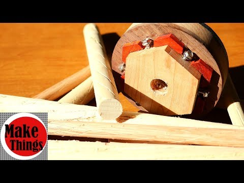 Dowel Flute Jig Plus // Perfect Dowel Flutes to Get Glue Where You Want it to Go!
