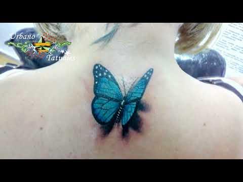 Urbano Tatuajes Mariposa 3d Youtube