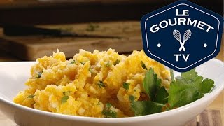 Sweet And Russet Potato Mash With Herbs Recipe - Legourmettv