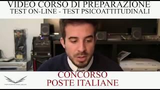Superare Test Online e Test PsicoAttitudinale Poste Italiane