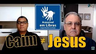 Um contraste entre Caim e Jesus (1 João 3.11-16)   Rev. Orlando Damico #Libras