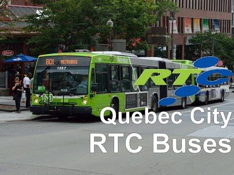 Quebec City public transportation: RTC Buses