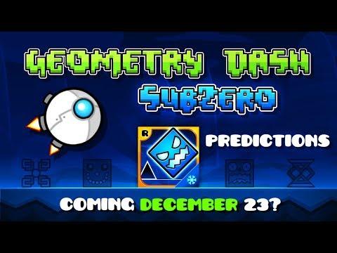 Geometry Dash Subzero - Predictions and potential Release Date