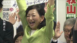 【参院選】牧山弘恵氏(立憲:現)が神奈川で当選(19/07/21)