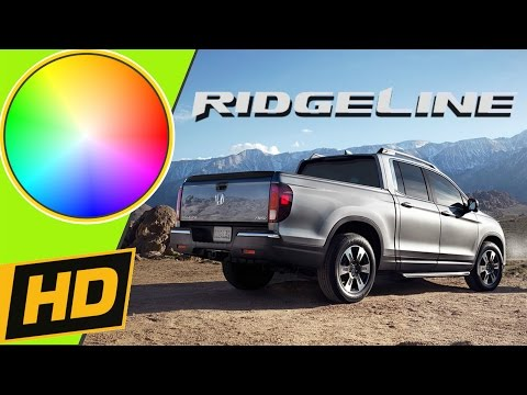 2017 Honda Ridgeline Paint Colors